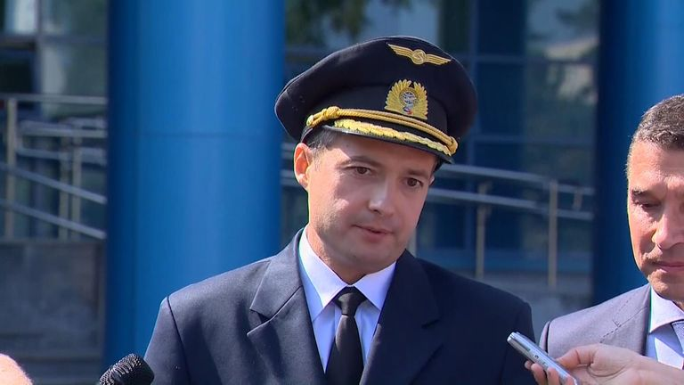Yusupov was hailed as a hero after the feat and President Vladimir Putin's spokesman said the crew will receive state awards