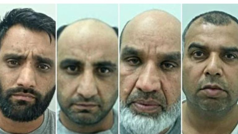 Sadaqat Ali, Rafaqat Ali, Fazal Ilahi and Syed Akbar each received mandatory life sentences