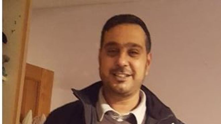 Sajed Choudry, 42, suffered horrific injuries