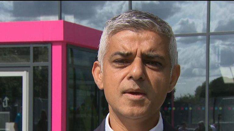 Sadiq Khan hits out at 'callous' Brexit movement proposals