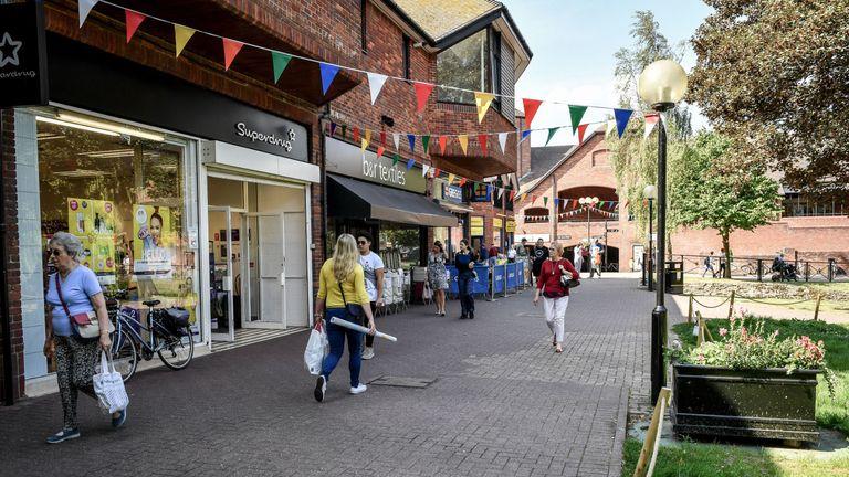 Salisbury town centre