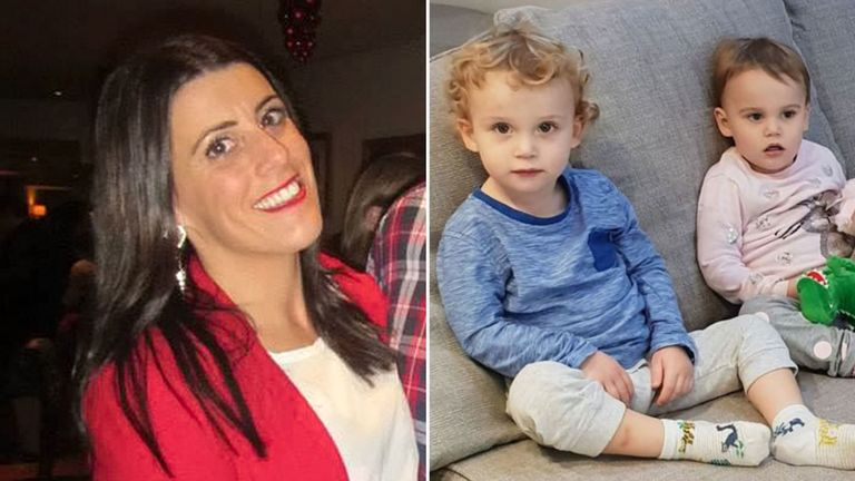 Samantha Ford (left) killed toddlers Jake and Chloe. Pic: Steven Ford/Kent Police