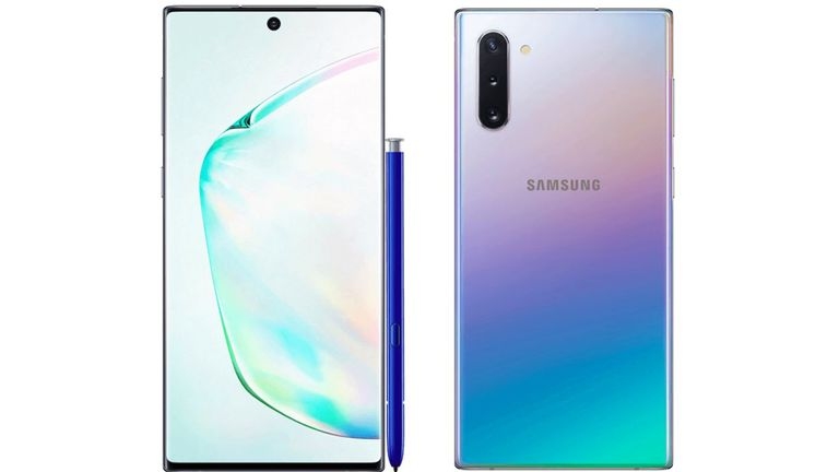 Verizon leaked a marketing image of the Samsung Note 10