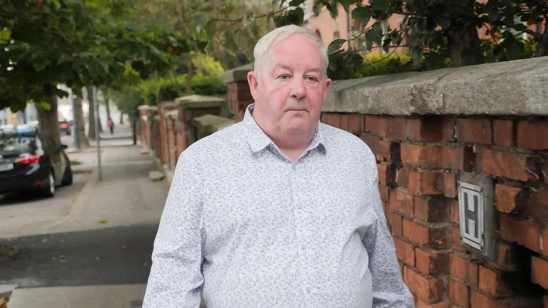 Brian Kenna, a convicted IRA member, now leads a party called Saoradh