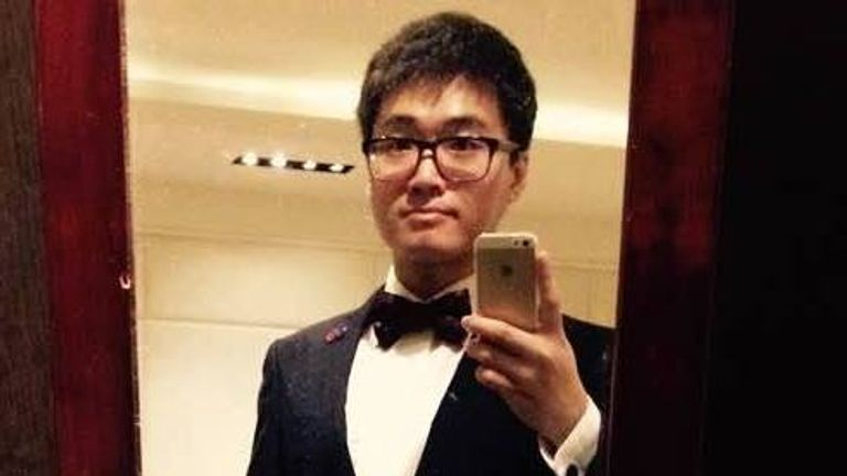 Simon Cheng Man-Kit reportedly failed to return to Hong Hong from Shenzhen in China 10 days ago