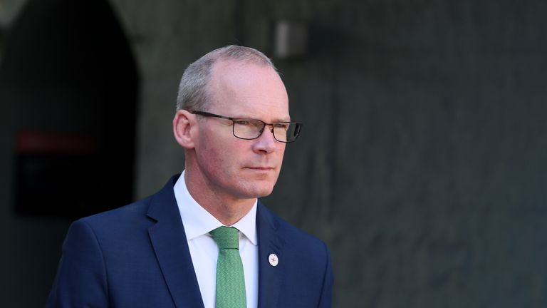 Ireland's deputy PM and foreign affairs minister Simon Coveney
