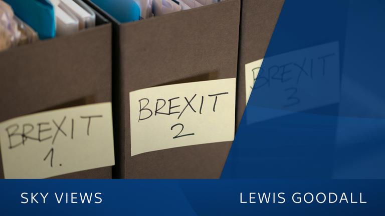 Lewis Goodall Sky News