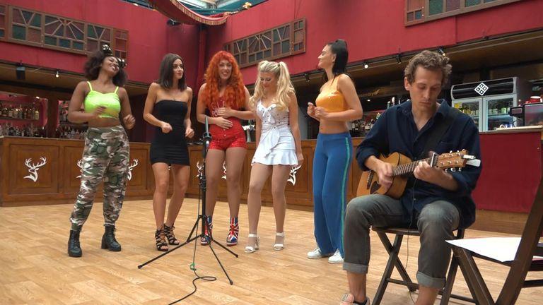The Spice Girls tribute act at Edinburgh Fringe