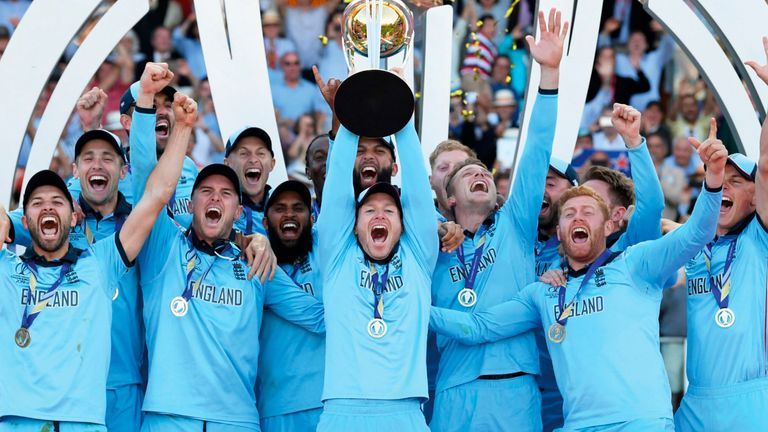 The two new sets of stamps feature images taken during the finals and celebrations of both England Men's and Women's ICC Cricket World Cup winning teams