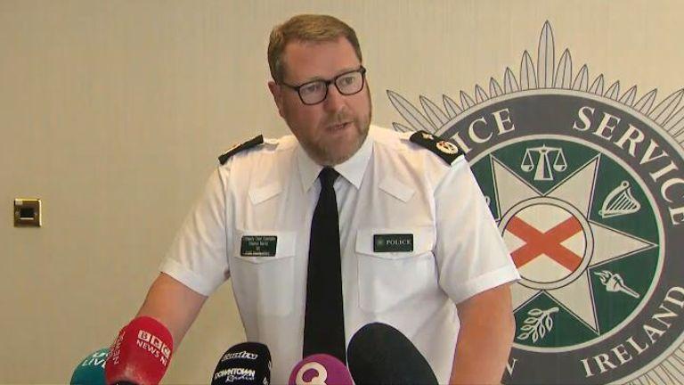 PSNI  DEPUTY CHIEF CONSTABLE STEPHEN MARTIN