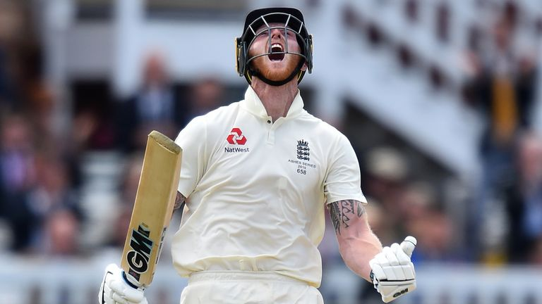 Stokes hit 115 as England declared on 258-5
