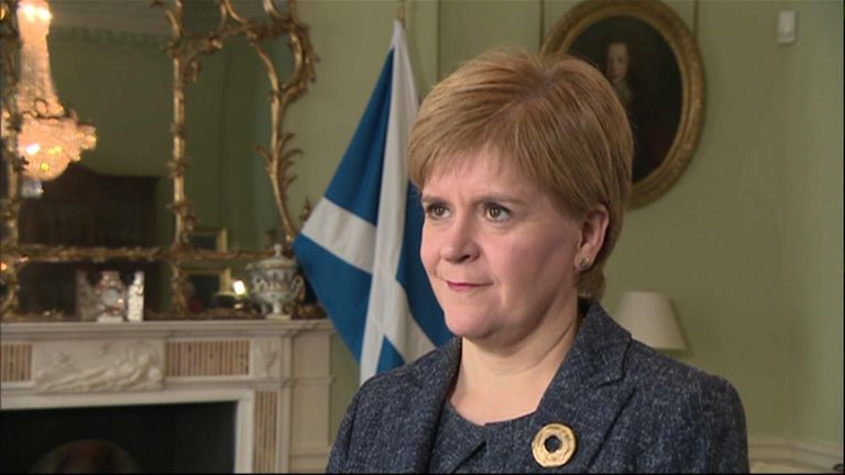 The First Minister stated her anger at the plan from the UK government.