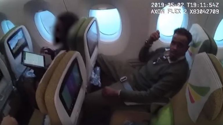 Diiriye Ali-Jamac has a one-way ticket to Ethiopia
