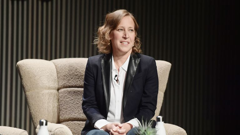 Susan Wojcicki is the chief executive of YouTube