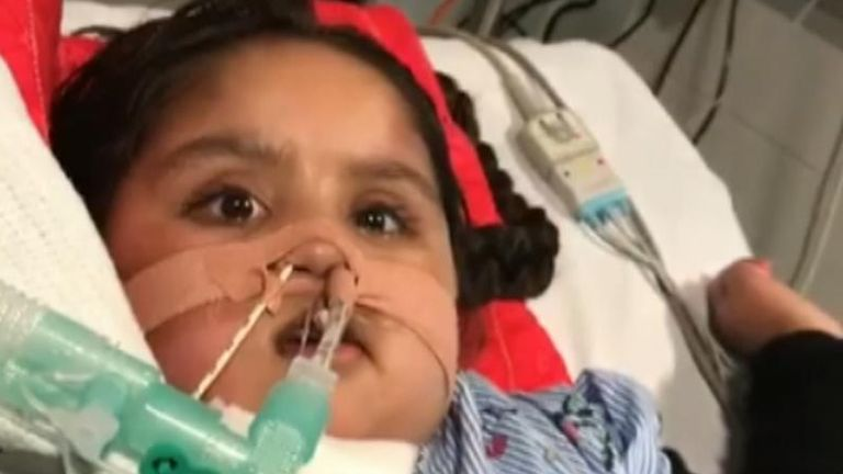 Tafida Raqeeb suffered a traumatic brain injury in February and clinicians at the Royal London Hospital in Whitechapel have said there is no hope for her and that it is in her best interests to be allowed to die.