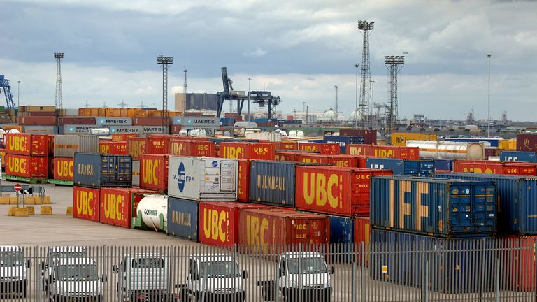 Teesport is in the running to become a freeport