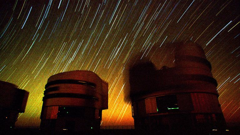 Measurements of the black hole were taken using the Very Large Telescope (VLT) at the European Southern Observatory (ESO)