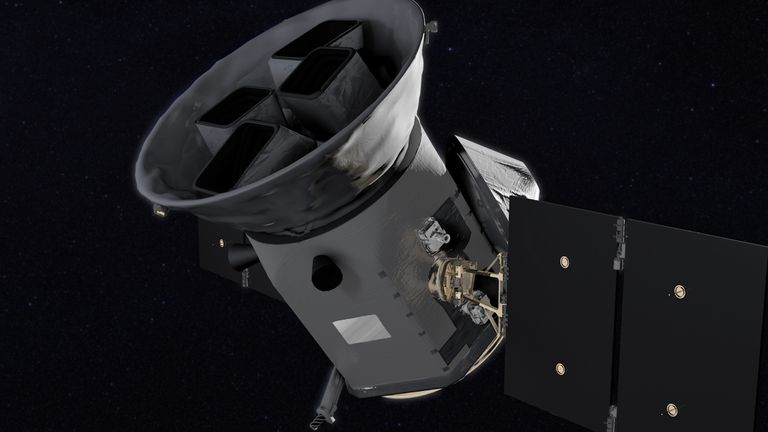 The Transiting Exoplanet Survey Satellite (TESS). Pic: NASA