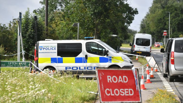 Thames Valley Police confirmed the deaths of two people. File pic