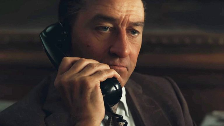 Robert De Nero in 'The Irishman'