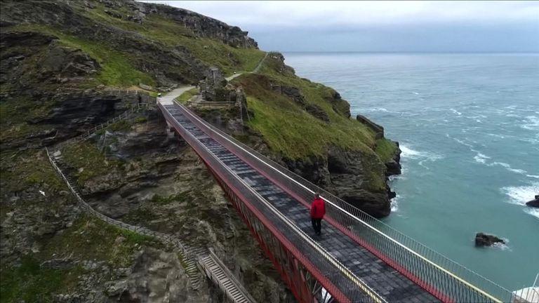 Tintagel Bridge open to public