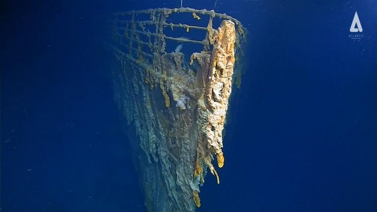 The latest images of the Titanic are the first in 14 years