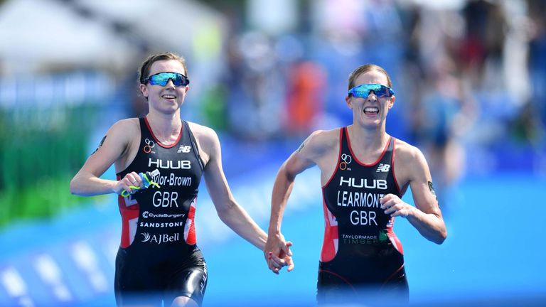 Taylor-Brown Georgia and Jessica Learmonth. Pic: MATSUO .K/AFLO SPORT/Alamy Live News