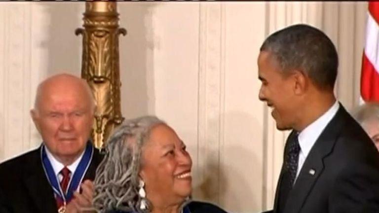 Morrison was awarded the Presidential Medal of Freedom