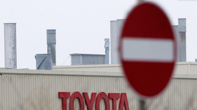 Toyota's Burnaston plant