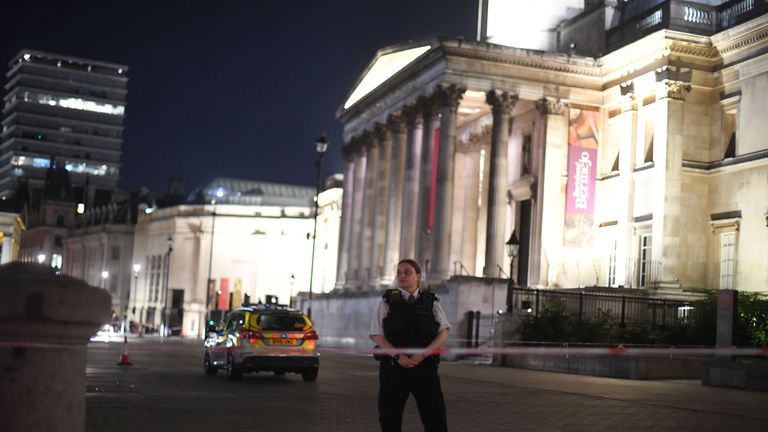 Emergency services were called shortly after 9pm