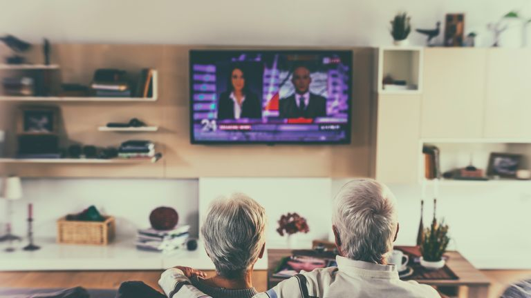 An estimated 3.7 million pensioners are going to lose their free TV licence. File pic