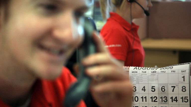 Employees in the UCAS clearing house call centres will be available to answer enquiries