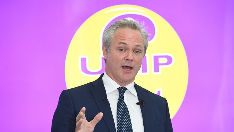 UKIP leader Richard Braine