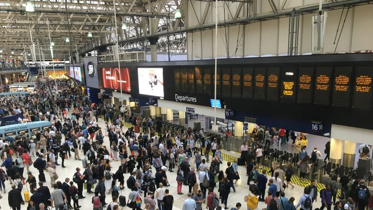 Waterloo was also affected by the outage