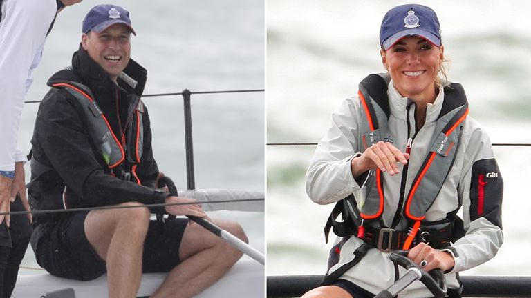 William and Kate have often competed against each other for charity