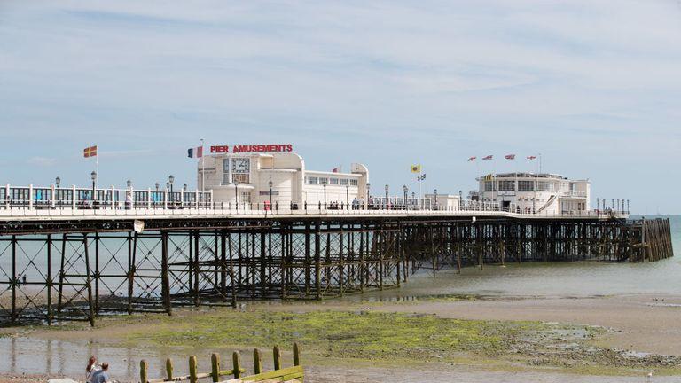 Worthing Pier. File pic