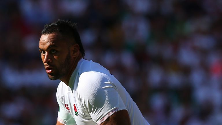 LONDON, ENGLAND - AUGUST 24: Billy Vunipola of England in action during the 2019 Quilter International match between England and Ireland at Twickenham Stadium on August 24, 2019 in London, England. (Photo by Craig Mercer/MB Media/Getty Images)