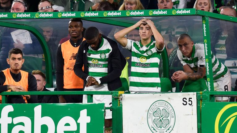 Lennon insisted his side only have themselves to blame following their Champions League exit
