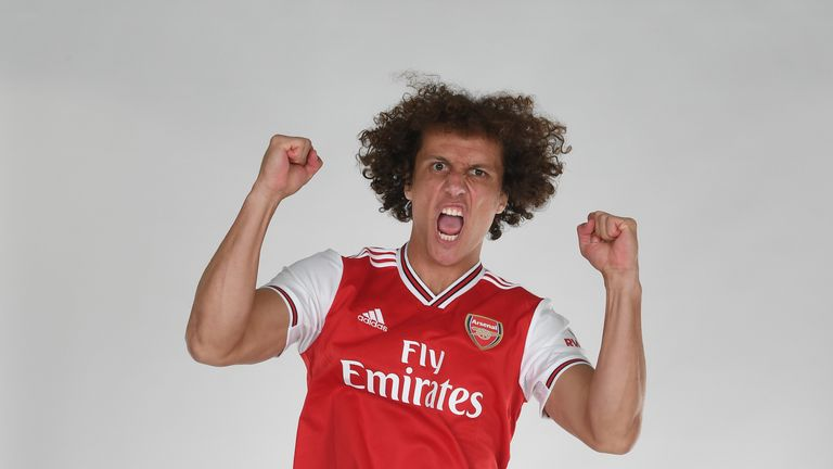 online store 10a45 c9753 Arsenal complete £8m Luiz signing - Jersey Peeps Social Network