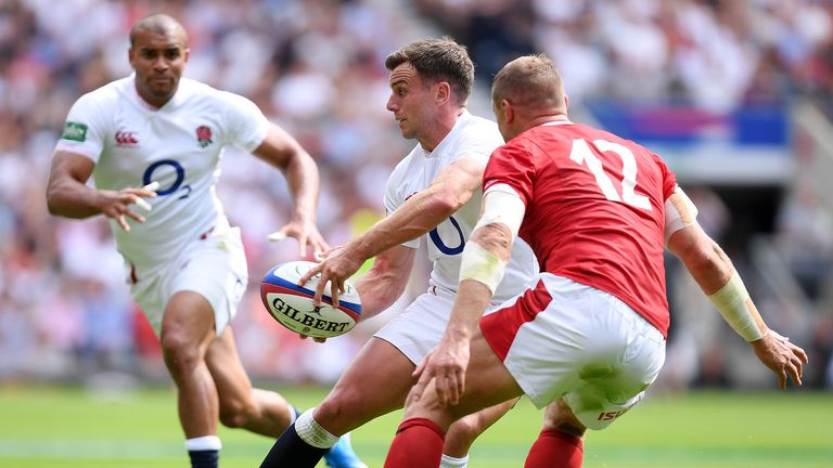 Highlights of England's 33-19 win over Wales at Twickenham last weekend