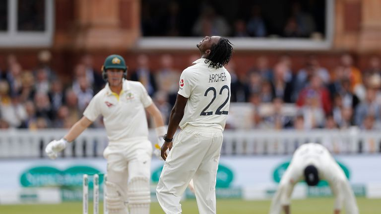 Jofra Archer, England, Ashes Test at Lord's