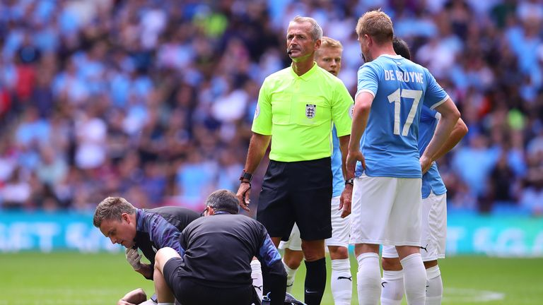 Leroy Sane: Manchester City forward could be out for seven months