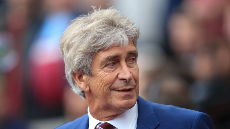Pellegrini is content with his team's start to the season, which has seen them go unbeaten in their last five matches