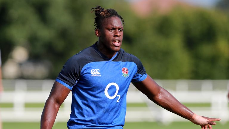 Maro Itoje says he hopes to return to Arsenal for training in the future