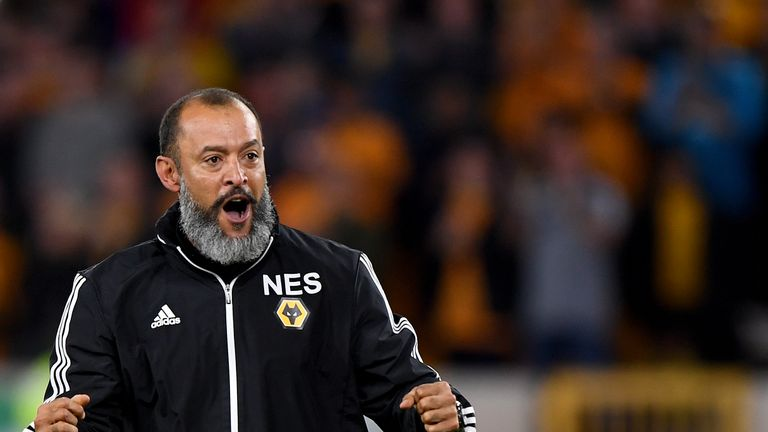 ผลการค้นหารูปภาพสำหรับ Nuno Espirito Santo says Wolves need to be at their best to beat Arsenal