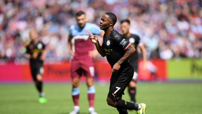 Highlights from Manchester City's 5-0 win at West Ham