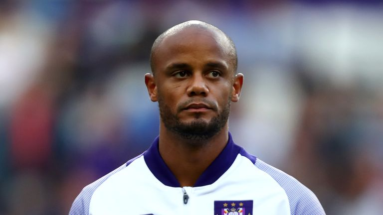 Vincent Kompany will now prioritise on-field duties as captain of Anderlecht on match days