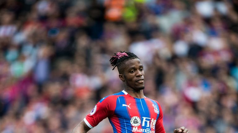 Sky sources understand Palace rejected an improved offer from Everton worth £70m plus two players for Zaha on Wednesday