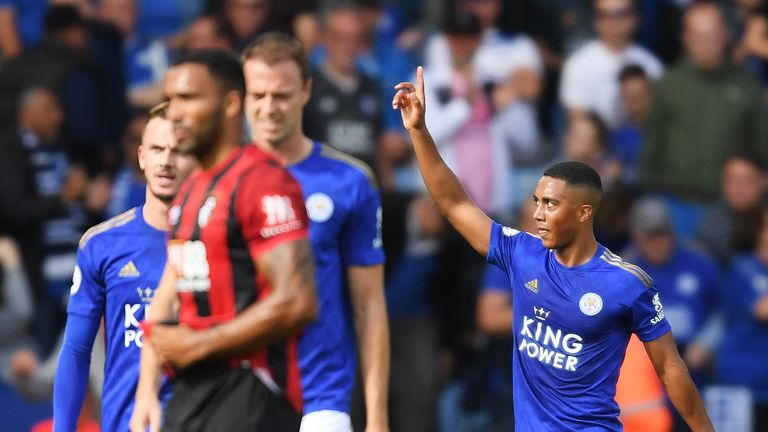 Leicester 3-1 Bournemouth