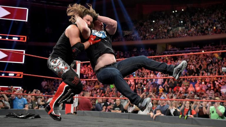 AJ Styles was the latest recipient of a Stone Cold Stunner on last night's Raw
